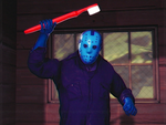 Watch Out! Jason Has A Toothbrush!!! by NightB1ader