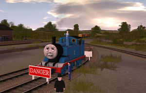 Thomas and friends episodes in trainz by lbbrian on deviantart for Thomas goes fishing