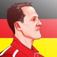 michael schumacher by dem0nice