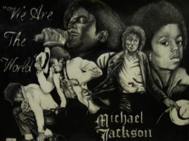 michael jackson by deez-art