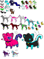 Mass Adopts by love-the-adopts