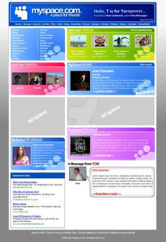 Myspace Redesign Revision by Eques-Ardor