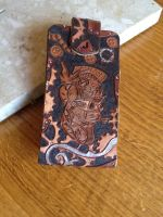 Steampunk Leather Iphone case by JoHandcraftedLeather
