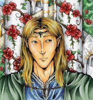 Finrod in Tirion by avi17