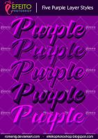 5 Premium Purple Styles by Romenig
