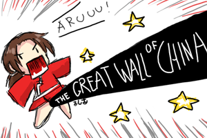 THE GREAT WALL OF CHINA by TsukasaInTheBowl