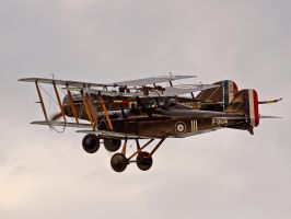 Se5 and Bristol Fighter formation by davepphotographer