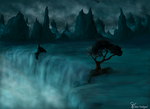 the Water is falling by Artist-SV