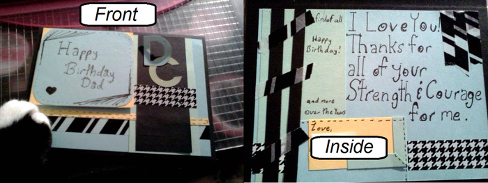 Father's birthday card by wave3girl