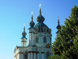 St. Andrew's Church in Kiev by Anny78