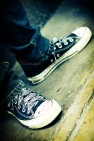 Chuck Taylors by SnowHunter