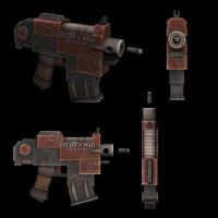 R+S - Bolt Pistol by NeonDuck