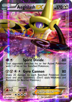 Pokemon XY - Aegislash EX by aschefield101