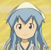 Squid Girl Fan Art by PhyroPhantom
