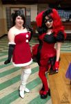 Ladies in Red (Jingle All the Play) by JackitK