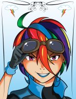 Brony Time - Rainbow Dash by SycrosD4