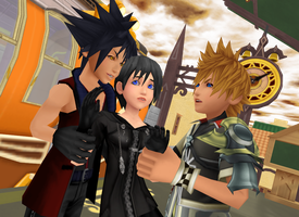 MMD KH -  Mine not Yours - VanXiVen by XxChocolatexHeartsxX