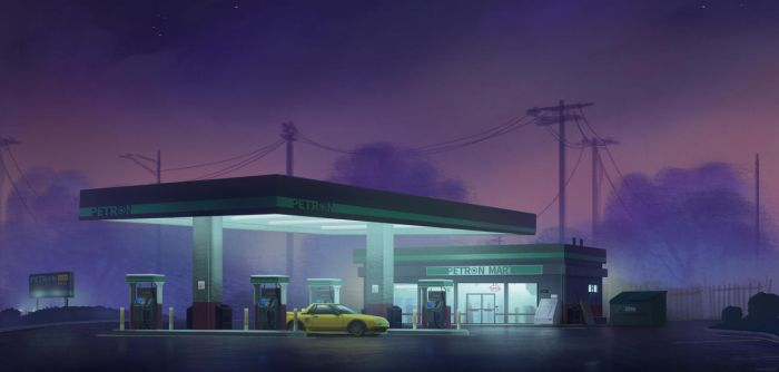 Night Petrol by MeckanicalMind
