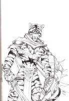 Tiger Warrior by Ragnarokdragon