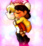 Don't worry, I'll carry you by Pok3yGamrGirl