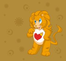 Brave Heart Lion by ThisCrispyKat
