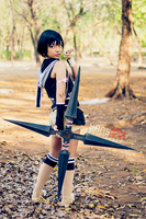 Yuffie Kisaragi by Hanseon