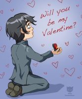 Xanthe - Disney style Valentine by neko-productions