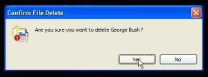 George Bush by 40DiffKindsOfSadness