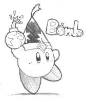 Bomb Kirby Pencil by riodile
