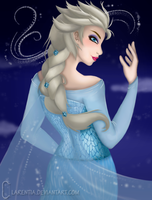 The cold never bothered me anyway ~ by Clarentia