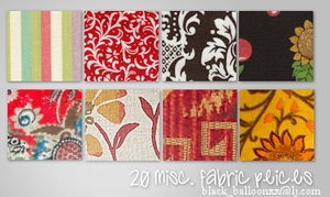 20 Misc. Fabric Textures by TreeHuggerPeace