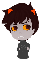 HS: Blinking Karkat by k030