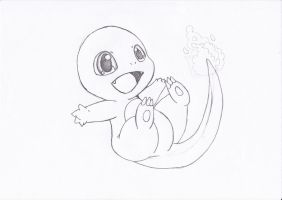 Charmander ( little version) by Khirono