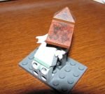lego silent hill reppin time by pyramidrus