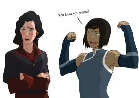 Korrasami - Resistance is Futile by MattHunX