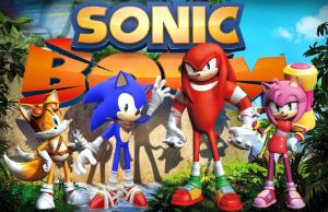 Sonic Boom characters by Knuxy7789