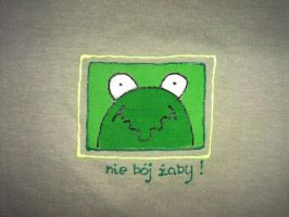 don't afraid the frog by MSLucy