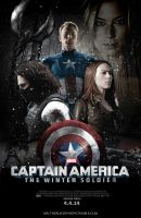 Captain America 2: The Winter Soldier poster by littlemissromanoff