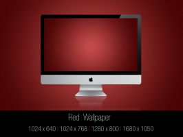 Red Wallpaper by Mr-JC