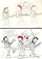 Noisey Craize Then and Now by hankinstein