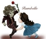Rumbelle chibis by iesnoth