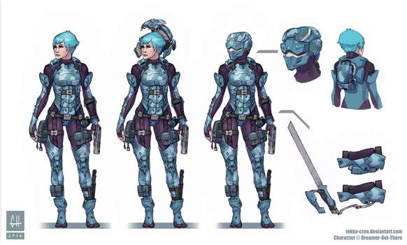 Sophie McGillicuddy 7 (concept sheet) by Dreamer-Out-There