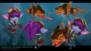Dragon Trainer Tristana by sstrikerr