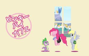 Pinkie Pie Cafe by Fuzon-S
