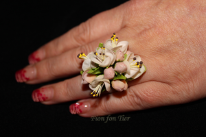 Apple's flowers ring by fion-fon-tier