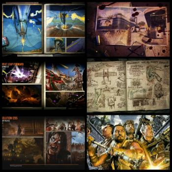 Black Ops 2 Zombie Maps by gears123fights