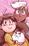 Bee and Puppycat thing by TheDracoJayProduct