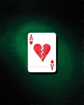 Ace of hearts by broalex