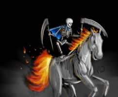Death on a Horse Chalange by vascosousa