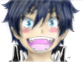 I Colored Rin's Face by Gaylordie